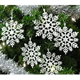 Banberry Designs Snowflakes, 4-Inch, Set of 20, White