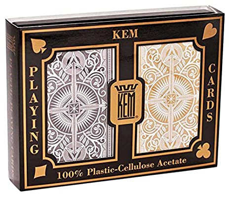 Kem - 1017401 - Jeu de Société - Arrow Black and Gold Narrow - Standard Index