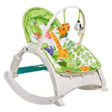 COLOR TREE Infant to Toddler Rocker Activity Play Centers for Boy