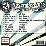 All Star Karaoke November 2013 Pop and Country Hits B (ASK-1311B)