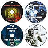 img - for Horror Collection - Old Time Radio (OTR) Scary Ghost Stories/Audiobooks - Contents: Murder at Midnight, Dark Fantasy, The Haunting Hour, Peril (4 x mp3 CDs) Great for a Halloween Party or Gift book / textbook / text book