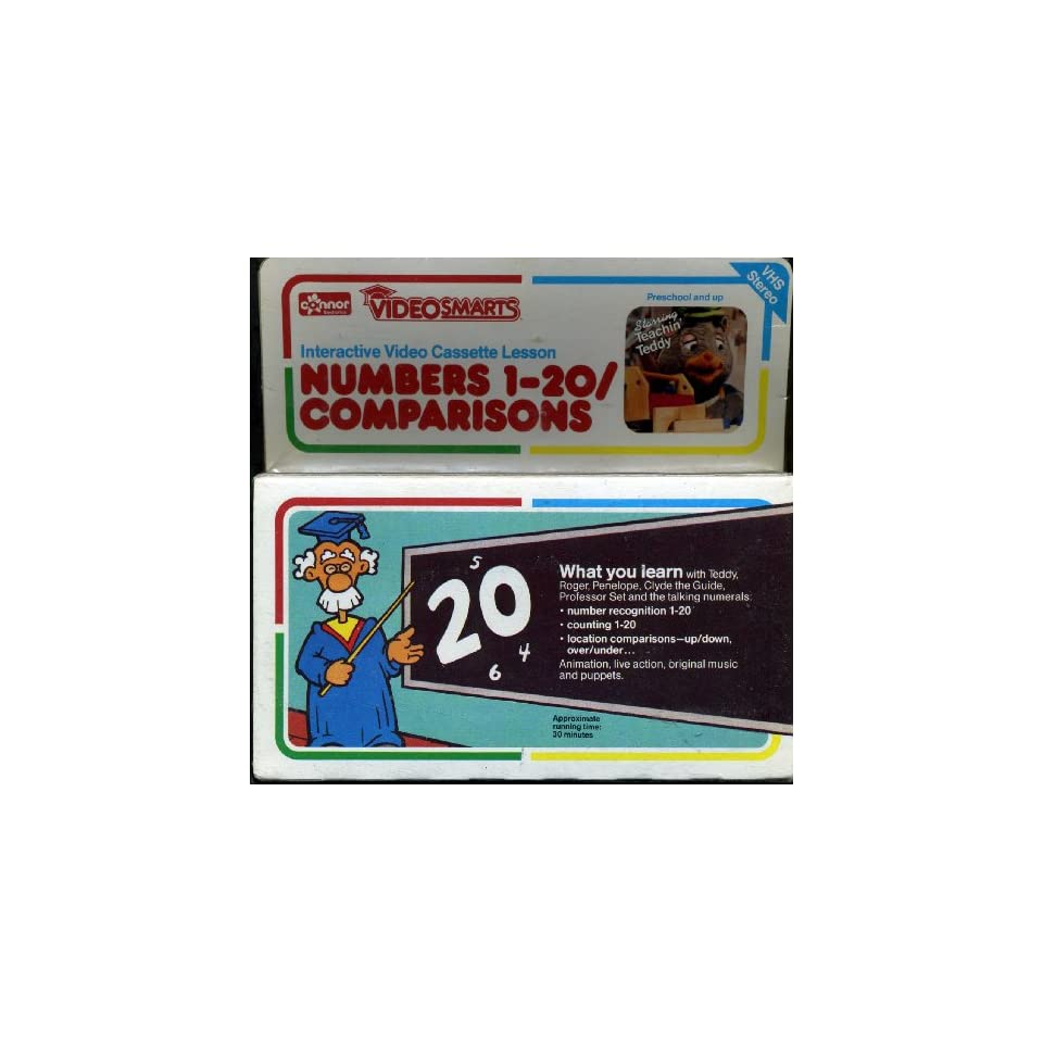 Baby einstein animal discovery cards toys amp games on popscreen - Videosmarts Interactive Video Cassette Numbers 1 20 Comparisons