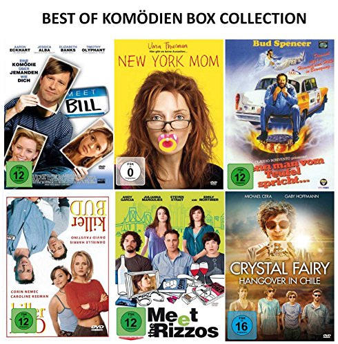 Best of Komödien Box Collection ( 6 Filme auf 6 DVD´s )
