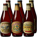 Anchor Brewing Bottle Mixed Case 355 ml Beer (Pack of 6)