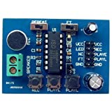 Egal ISD1820 Sounds Voice Recording Playback Module with Mic 10s Recording Audio Sound Board Module 3-5V