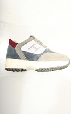 84255 sneaker HOGAN JUNIOR NEW INTERACTIVE LACE UP H FLOCK scarpa ...