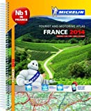 France 2014 A4 Spiral Atlas