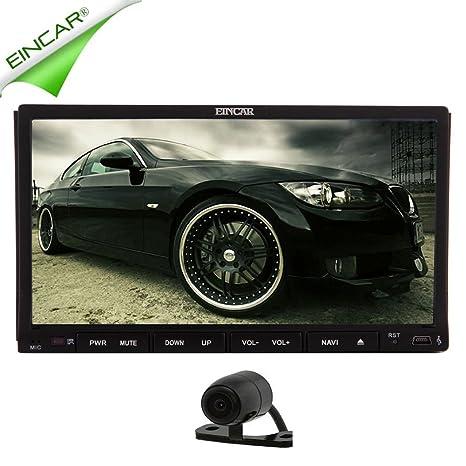 EinCar Derniers dans Dash Navigation Systššme Double Din Autoradio 7 pouces š€ šŠcran GPS Headunit Lecteur Windows CE DVD de voiture Universal capacitif tactile style