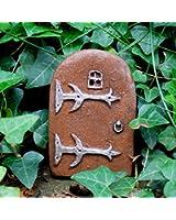Magical Doorway Fairy Door Small - Miniature Door For Skirting Boards, Walls And Trees