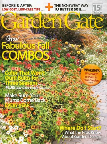 Garden gate all magazine store for Canadian gardening tips