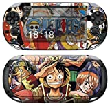 Sony PS Vita-1000 ONE PIECE Protective Vinyl Skin Decal Set