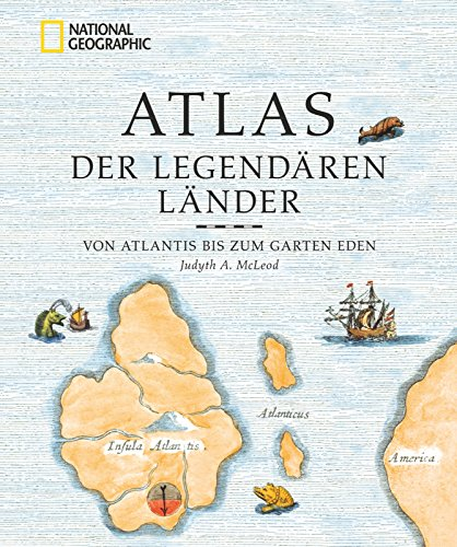 Atlas der legendären Länder - Buchcover