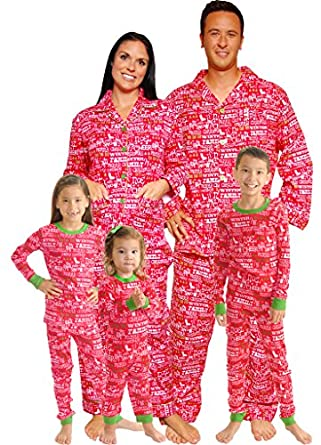 Christmas Cheer Family Matching Flannel Pajamas by SleepytimePjs (Kids-12)