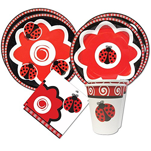 Ladybug Standard Party Packs (For 16 Guests)