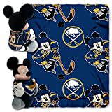 BUFFALO SABRES NHL MICKEY MOUSE WITH THROW COMBO