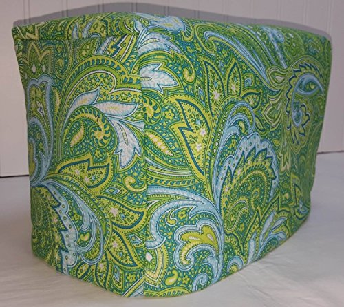2 or 4 Slice Toaster Cover (2 Slice, Blue Green Paisley) (4 Slice Green Toaster compare prices)