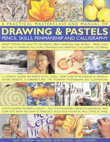 A Practical Masterclass and Manual of Drawing & Pastels, Pencil Skills, Penmanship and Calligraphy (Practical Masterclass & Manual)
