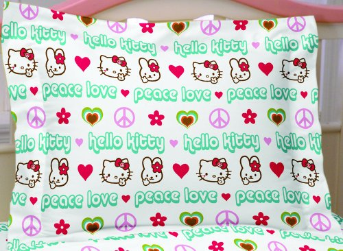 Hello Kitty Peace Kitty Standard Sham
