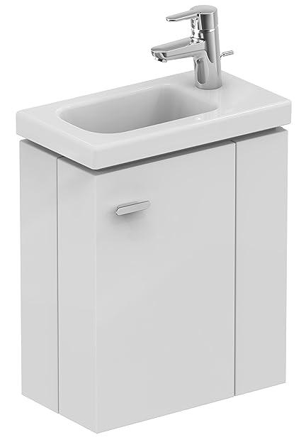 Ideal Standard, E0371KS, Collegare E0371KS Spazio Hängeschrank lavabo 45 destra, fatto di legno, bianco