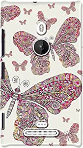DailyObjects Butterfly Dance Case For Nokia Lumia 925 (Back Cover)
