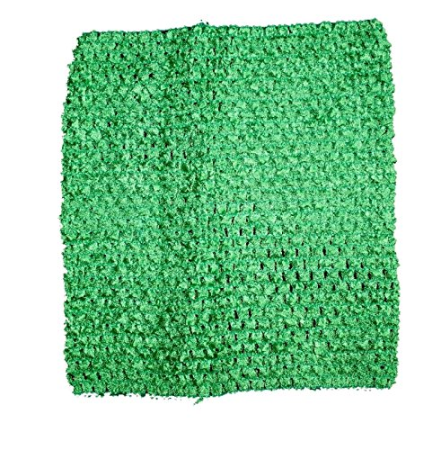 Rush Dance Crochet Tutu Fairy Princess Pettiskirt Halter Top (One Size, Kelly Green)