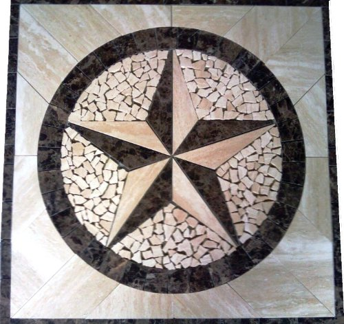 Marble Tiles Marble Mosaic Floor Tile Medallion Texas