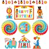Fisher Price 1st Birthday Circus Room Decorating Kit (10pc)