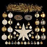 Kit de décoration pour sapin de Noël Lola Or...