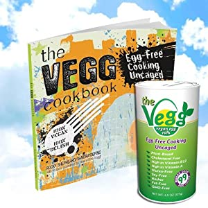 The Vegg Combo (4.5 Oz Container and the Vegg Cookbook)