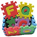 36pcs Foamies Soft Alphabet Numbers Puzzle Playmat Teaching Toys for Kids Badies