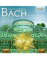 C.P.E. Bach : Sonates pour clavecin et violon