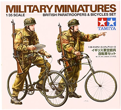 Tamiya Models British Paratroopers with Bicycles - 1