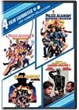 4 Film Favorites: Cop Comedy Collection (Police Academy 5: Assignment Miami Beach / Police Academy 6: City Under Siege / Police Academy: Mission To Moscow / National Lampoon's Loaded Weapon 1)