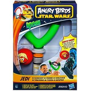 Koosh A2630E240 - Tirachinas con diseño de Star Wars y Angry Birds