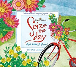 Seize the Day; Celebrate the Everyday Joys of Life 2015 Boxed Calendar
