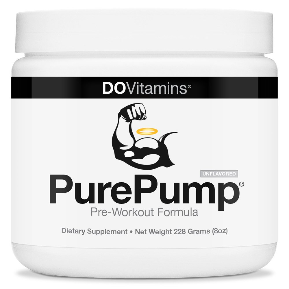 PurePump natural pre workout supplement