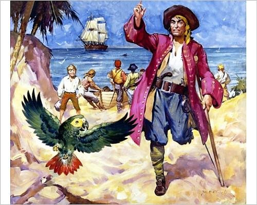 photographic-print-of-long-john-silver-and-his-parrot