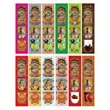 Seychelles Hand-Rolled Incense Sticks Pure Rose, Loban, Nag Champa,Sandalwood,Ruh Rose,Oudh,Wild Sandalwood,Bela...