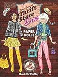 Thrift Store Diva Paper Dolls (Dover Paper Dolls)