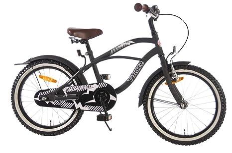 Vélo enfant 18 pouce frein Alloy noir âge 4 5 6 7