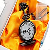 4 Styles Black Butler/ Kuroshitsuji Sebastian Pocket Watch Pendant Necklace