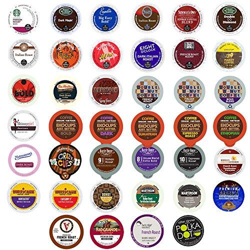 40-count BOLD & DARK ROAST COFFEE Single Serve Cups For Keur