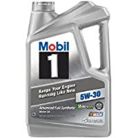 Mobil 1 5W-30 5-Quart Synthetic Motor Oil