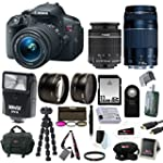 Canon EOS Rebel T5i Digital SLR with...