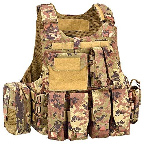Defcon 5 Body Armour Full Set colore Vegetato Italiano