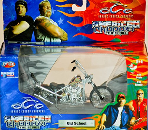 2004 - RC2 Brands / ERTL / Joy Ride - Orange County Choppers - American Chopper The Series - Old School - 1:18 Scale - Die Cast Metal - 1of 9 in Series - New - MIB - Limited Edition - Collectible (1 6 Scale Chopper compare prices)