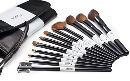 Natural Cosmetic Makeup Brushes