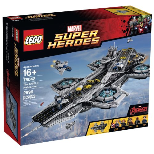 LEGO Marvel Super Heroes 76042 The SHIELD Helicarrier (Super Hero Squad Helicarrier compare prices)