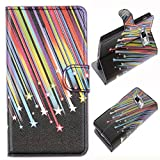 Semoss Meteor Leather Case Cover With Stand Function/Credit Card Holder For Samsung Galaxy S2 Plus / S2 i9100 / S2 Plus i9105P