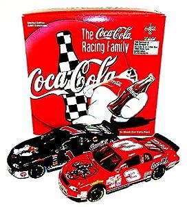 *2X AUTOGRAPHED1998 Dale Earnhardt Sr. #3 Dale Earnhardt Jr. #1 Coca-Cola Racing... by Trackside Autographs